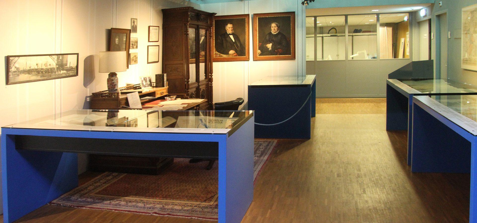 Johan Akkerman vormgeving musea Batavialand Werkkamer van Lely2