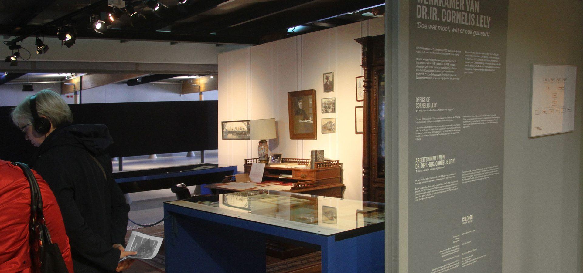Johan Akkerman vormgeving musea Batavialand Werkkamer van Lely4